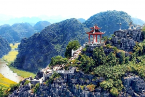 From Hanoi: 1-Day Tour to Trang An, Mua Cave, and Ngoa Long