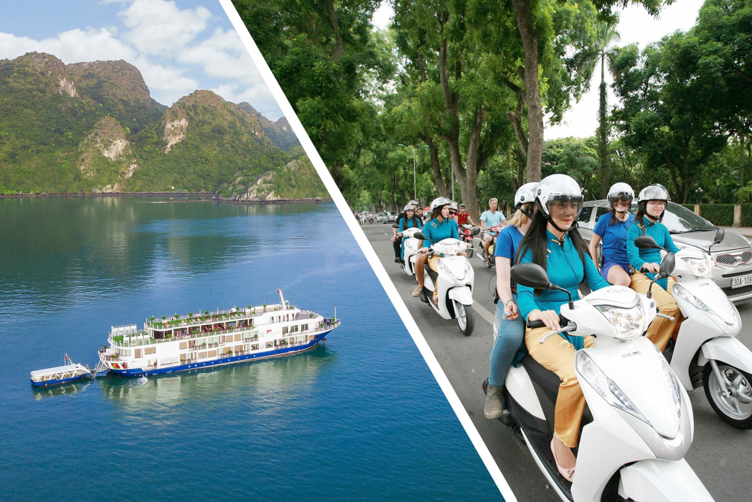 From Hanoi: 2-Day Ha Long Bay Cruise & Street Food Tour