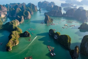 From Hanoi: 2 Day Ha Long - Lan Ha Bay Package Tour