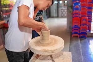 From Hanoi: Full-Day Van Phuc silk & Bat Trang Village
