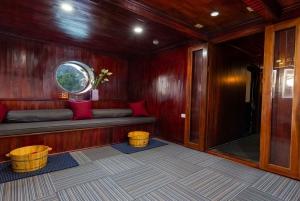 From Hanoi: Ha Long Bay and Bai Tu Long Bay Luxury Boat Tour