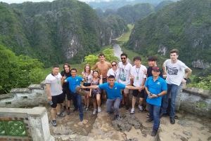 From Hanoi: Hoa Lu, Trang An and Mua Cave Full-Day Tour
