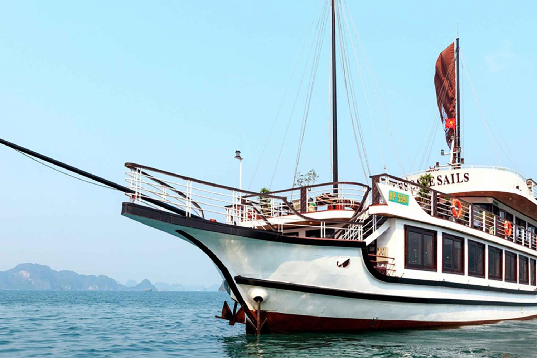 From Hanoi: Lan Ha and Ha Long Bay Day Cruise