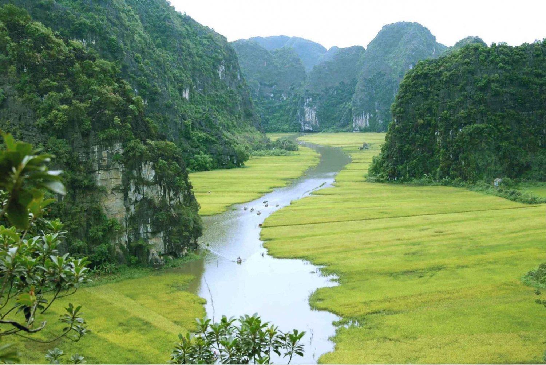 From Hanoi: Ninh Binh & Cuc Phuong National Park 2-Day Tour