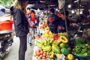 From Hoi An: Market Tour, Basket Boat Ride and Cooking Class