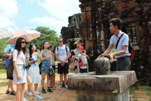 From Hoi An: My Son Tour by Bus and Boat