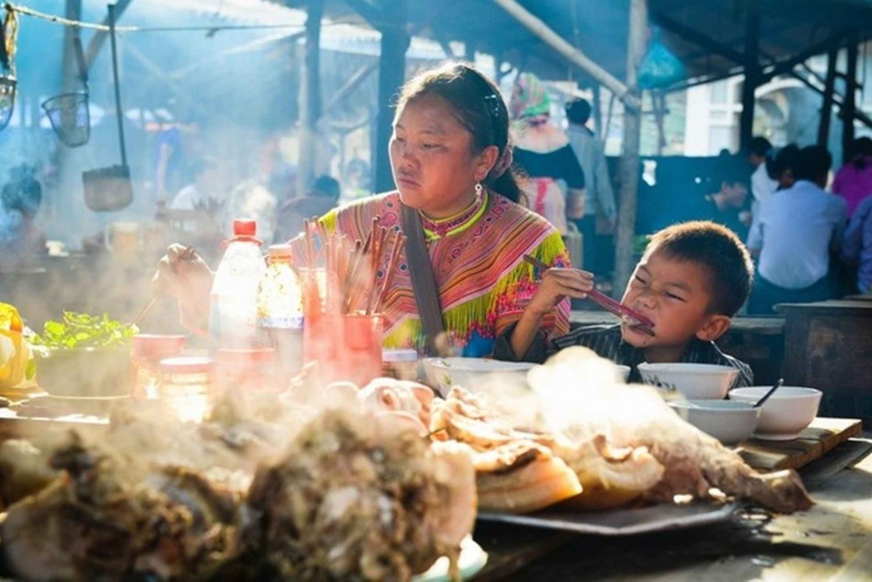 From Sapa: Sunday Bac Ha Market Group Tour