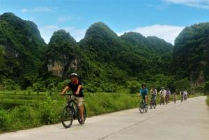 Full Day Trang An, Bich Dong Pagoda, Biking & Family Visit