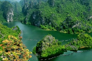 Full-Day Trang An, Hoa Lu & Mua Cave Tour with Lunch