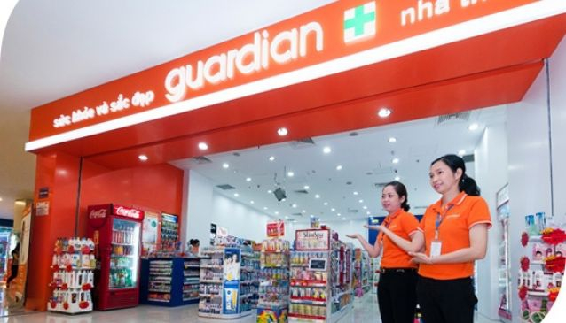 Guardian Crescent Mall in Vietnam