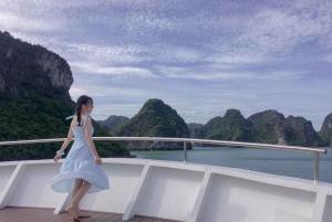 Halong Bay: 1-Night Cruise with Kayaking, Swimming, & Meals