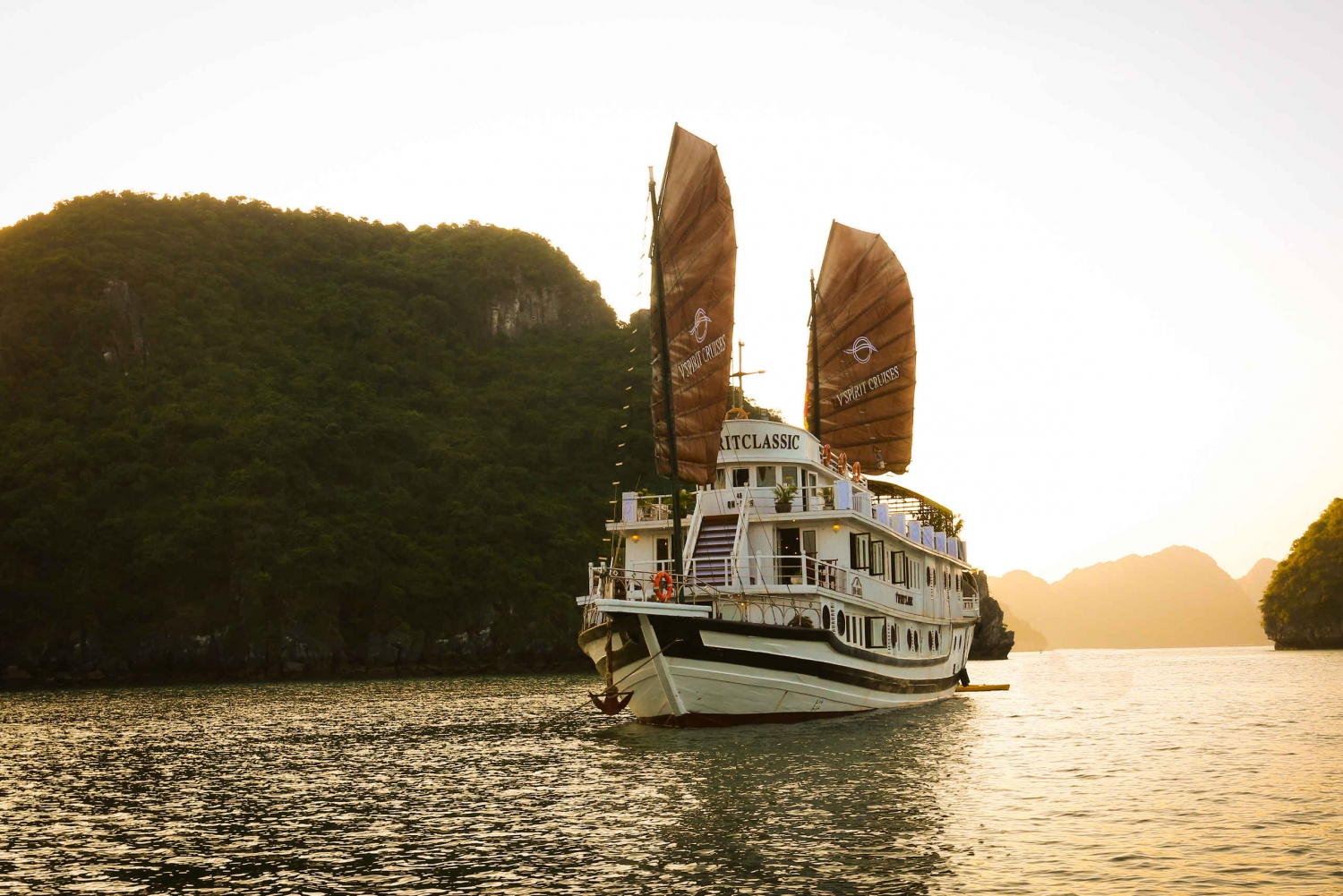 Halong Bay 2-Day Cruise with V'Spirit Cruises