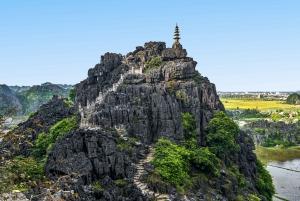 Hanoi: Mua Cave, Tuyet Tinh Coc Pagoda & Trang An Boat Tour