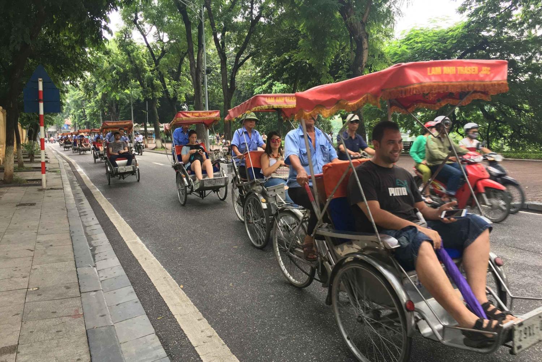 Hanoi Old Quarter: 1-Hour Cyclo Tour