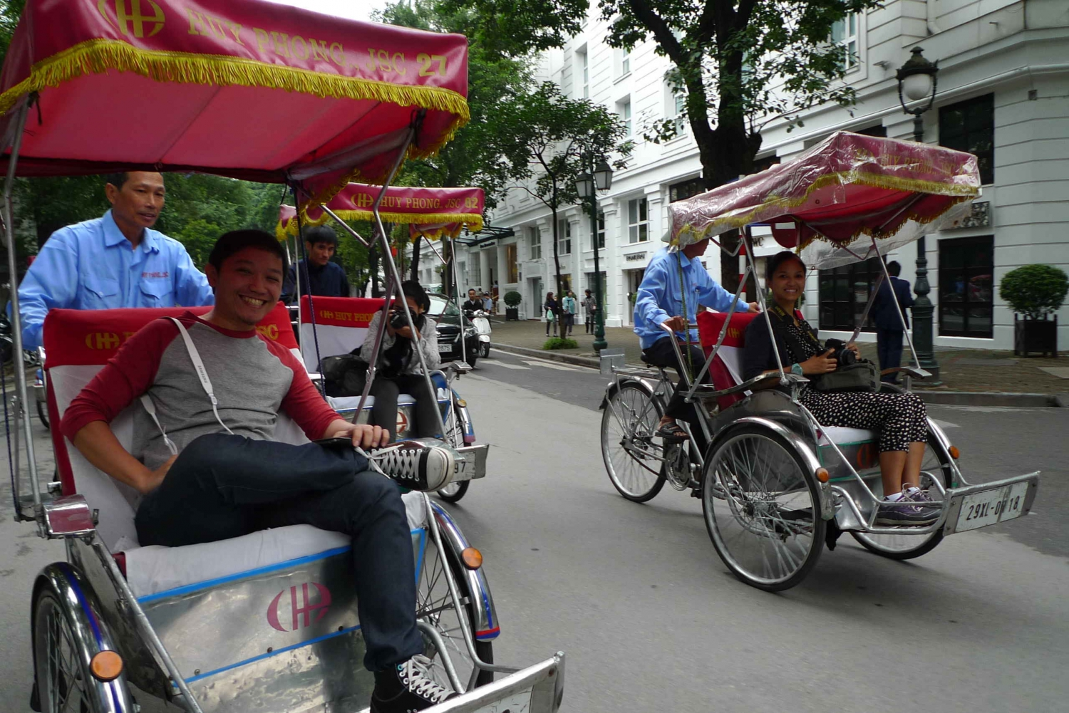 Hanoi Private Street Food Tour by Cyclo