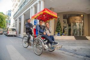 Hanoi Walking Street Food Tour & Cyclo