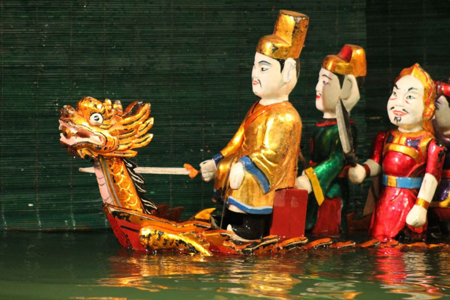 Hanoi Water Puppet Show Tickets with Hotel Delivery