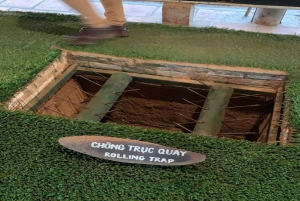 Ho Chi Minh City: Cu Chi Tunnels and City Tour in 1 Day