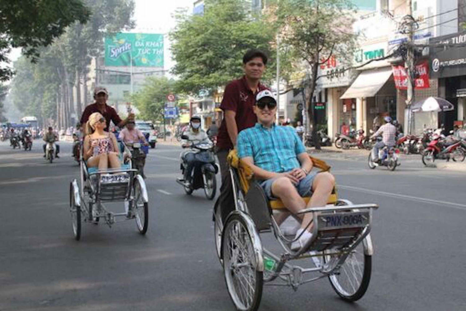 Ho Chi Minh City Cyclo Tour with English-Speaking Guide