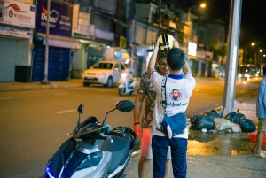 Ho Chi Minh City Food by Night: Private Motorbike Tour