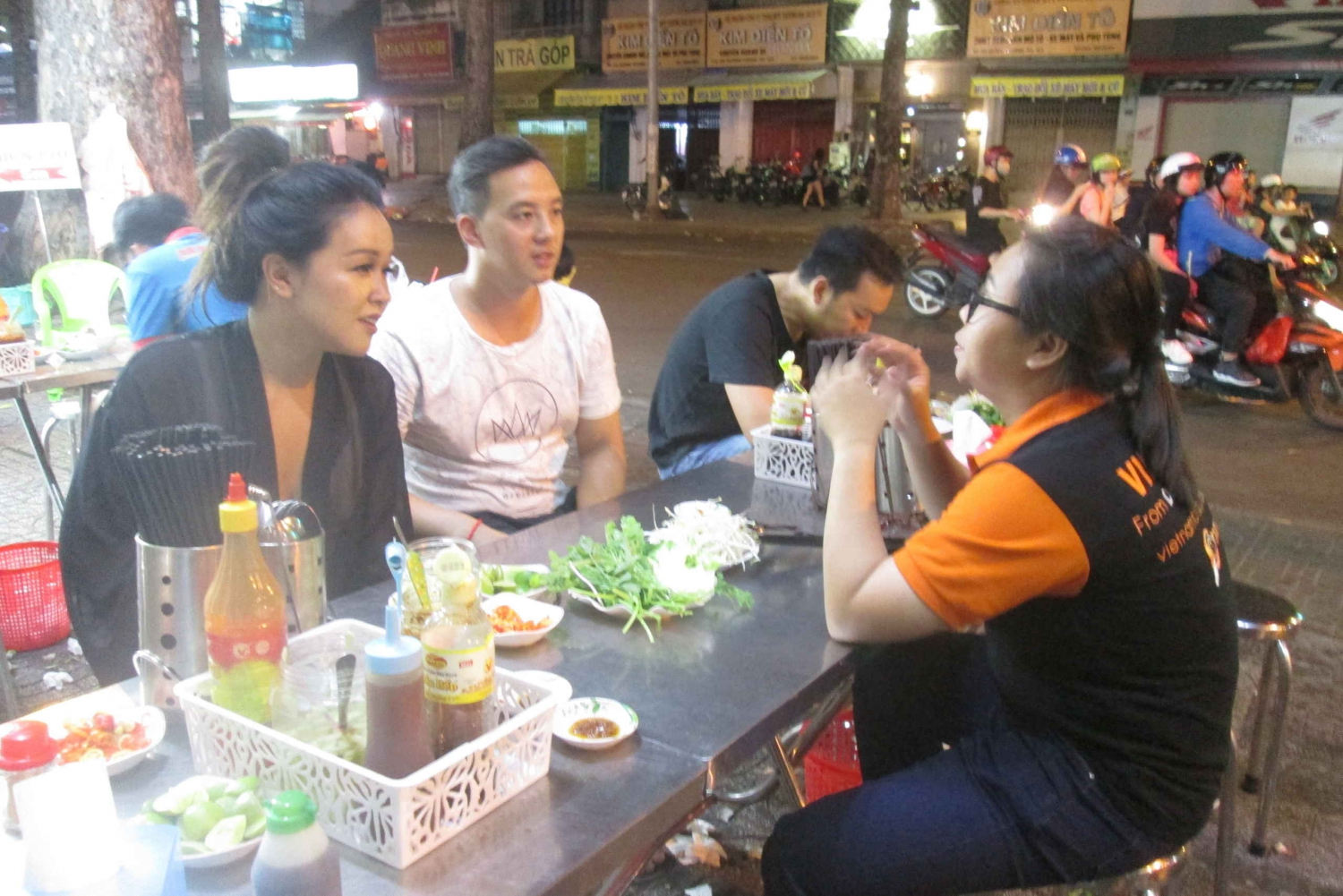Ho Chi Minh City: Midnight Motorbike Tour