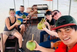 Ho Chi Minh: Cu Chi Tunnel & Mekong Delta My Tho Tour