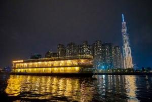 Ho Chi Minh: Saigon Princess Cruise with Course Menu