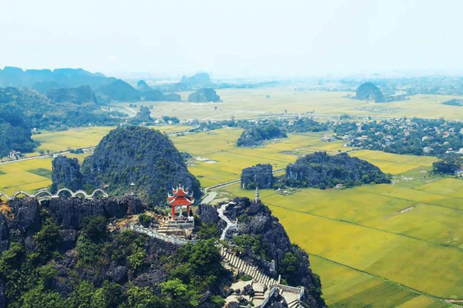 Hoa Lu, Tam Coc, Mua Cave w/ Amazing View- All Inclusive