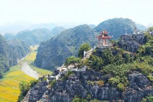 Hoa Lu, Tam Coc, Mua Cave w/ Amazing View- All Inclusive