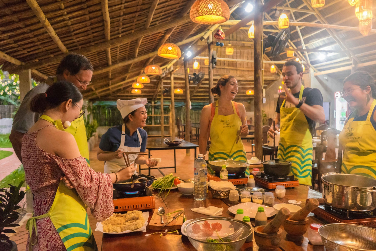 Hoi An: Vietnamese Cooking Class with Coconut Forest Sunset