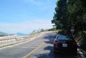 Hue or Hoi An: Golden Bridge Drive by Private Car