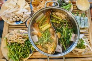 Hue: Vegetarian Food and Nightlife Tour by Motorbike