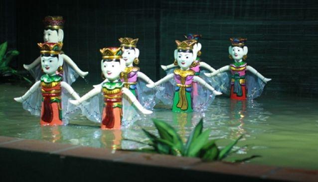 Lotus Water Puppet