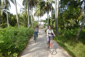 Mekong Day Tour by Car: Floating market, Cooking & Cycling