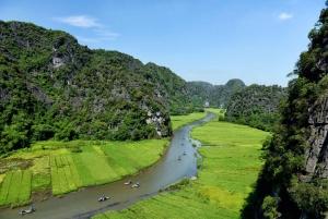 Ninh Binh Daily: Hoa Lu, Mua Cave, Tam Coc, Bike & Swimming