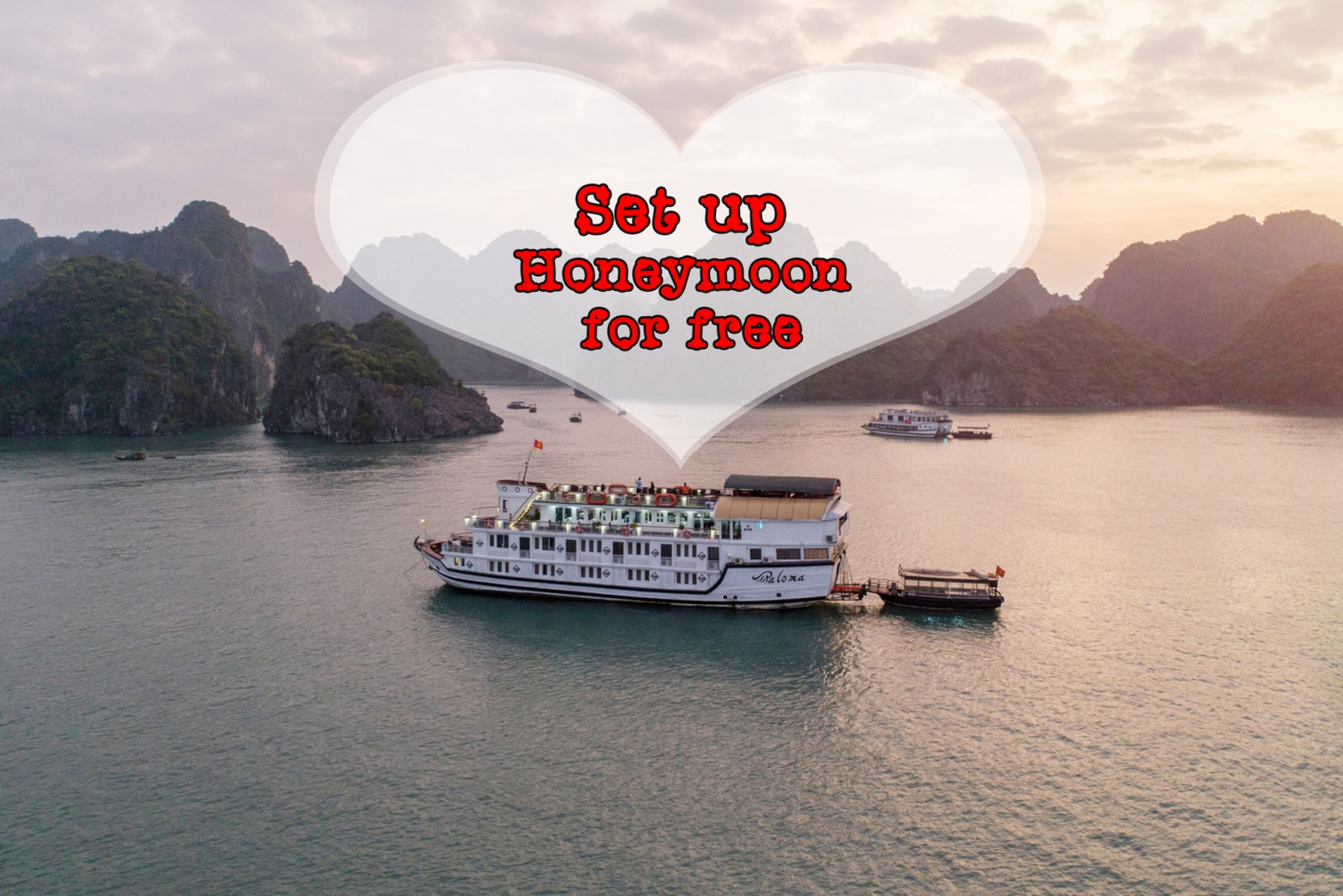 Paloma Halong Cruise: Amazing 3 Day & 2 Nights from Hanoi