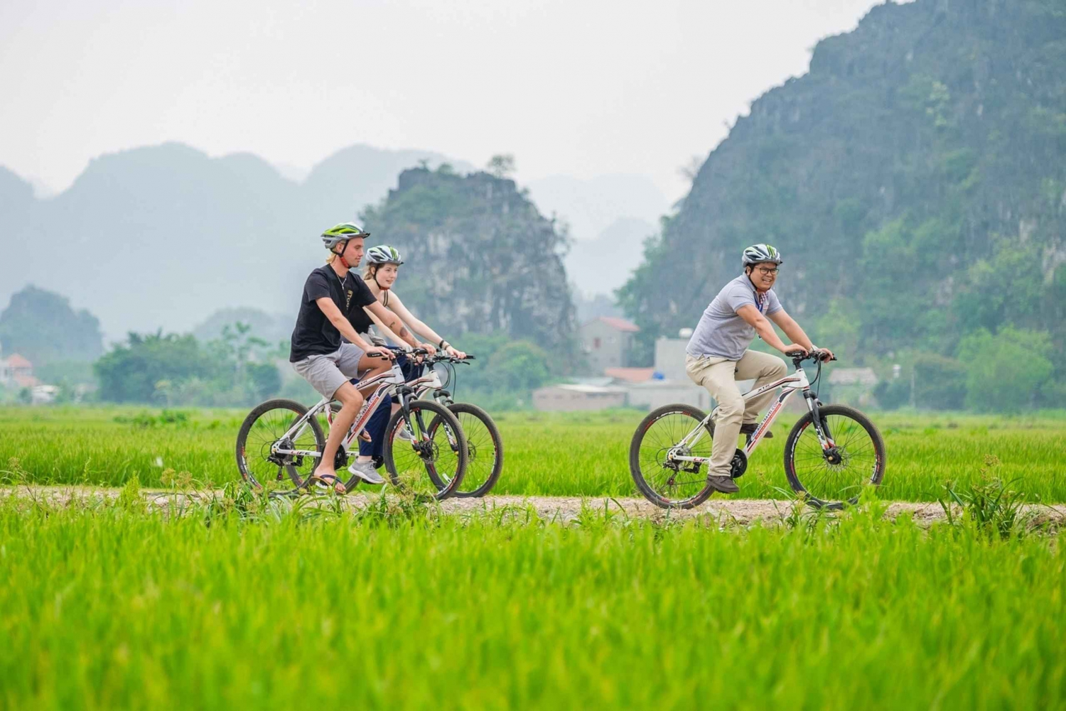 Private Hoa Lu -Tam Coc Day Tour - Buffet Lunch & Biking