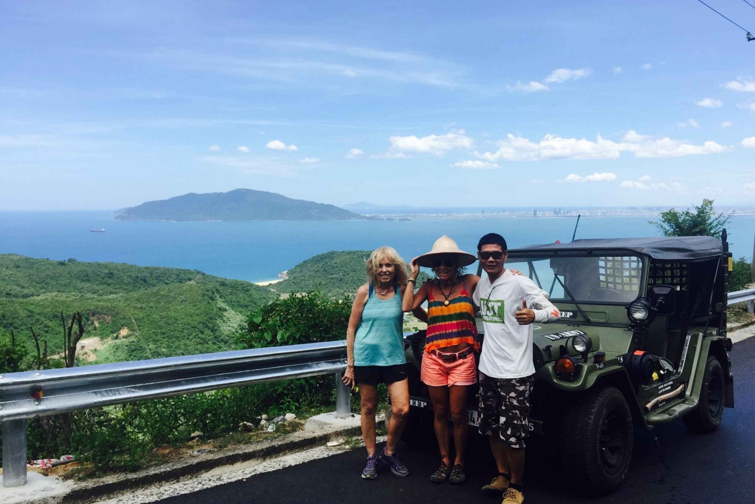 Private Tour: Son Tra Peninsula in a US Army Jeep