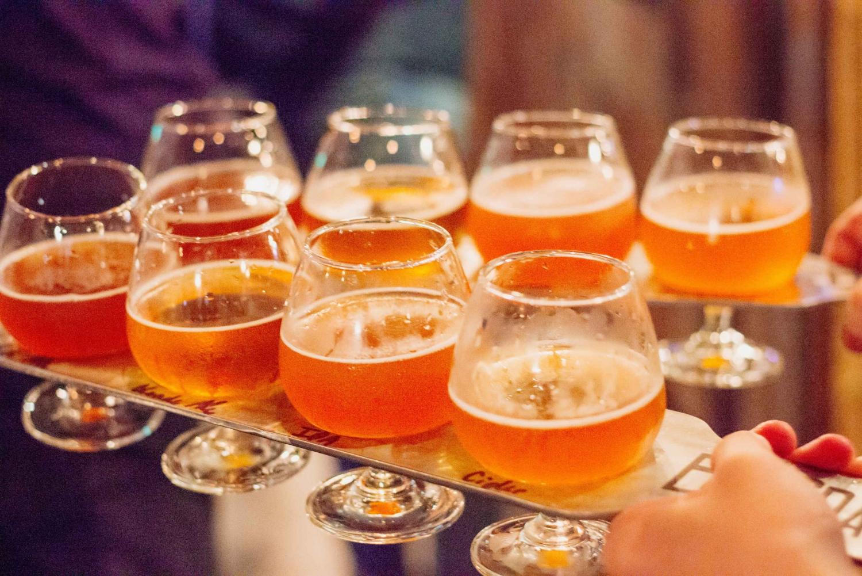 Saigon Craft Beer Tour with Food Pairings on Vintage Vespa