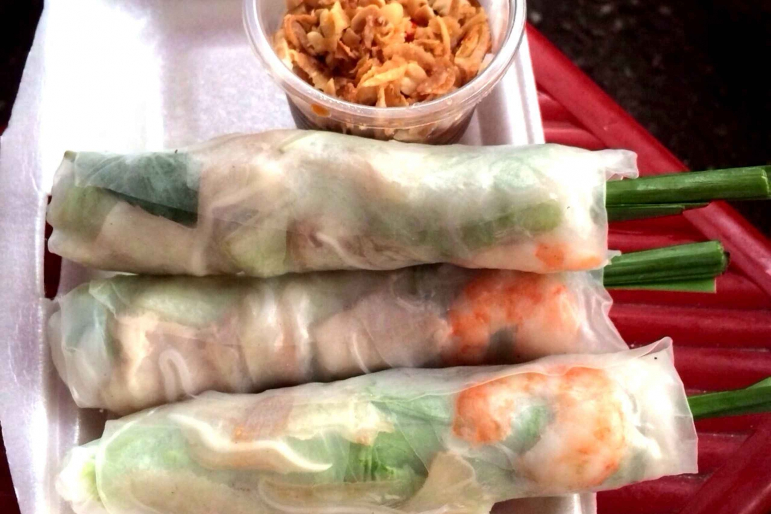 Saigon Street Food: 3.5-Hour Evening Tour