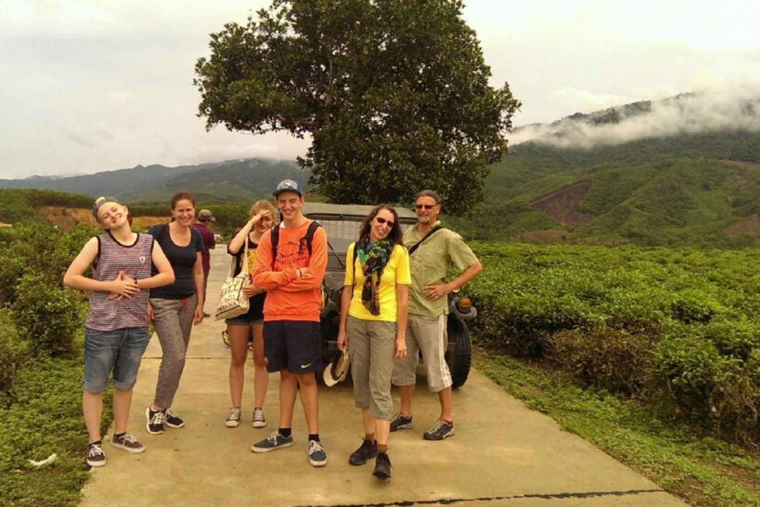 Truong Son Range and Neighborhood Private Jeep Tour