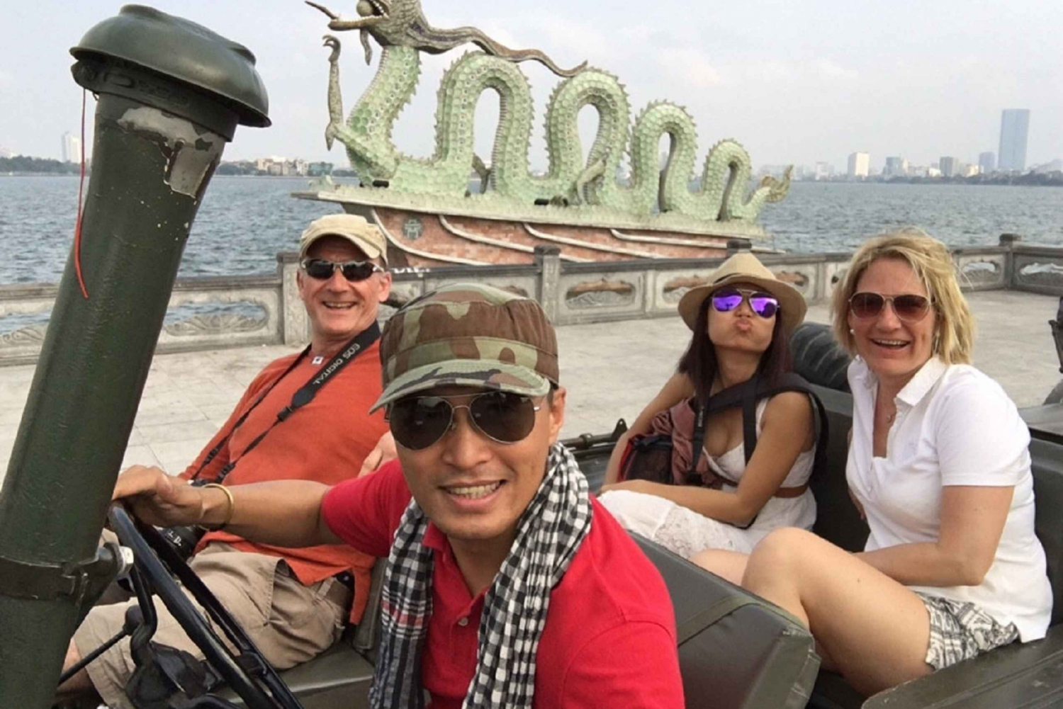 West Lake & French Quarter: Private Fun Jeep Drive