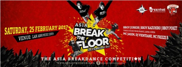 Break The Floor ASIA