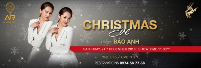 Christmas Eve Party with Singer Bao Anh