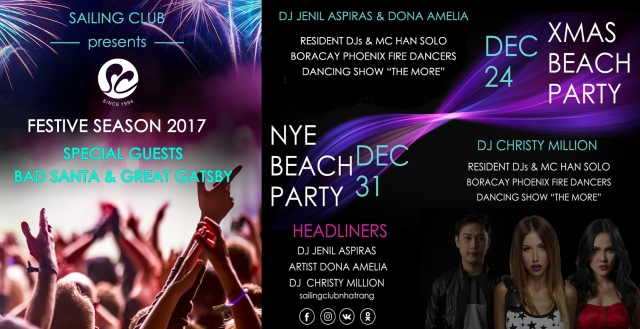 NYE 2017 Beach Party
