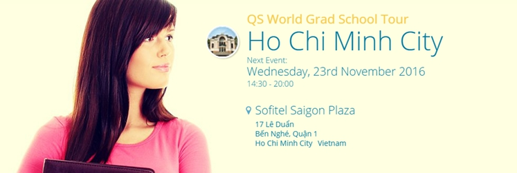 QS World Grad School Tour - Ho Chi Minh City