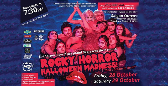 Saigon Players' Rocky Horror Halloween Madness