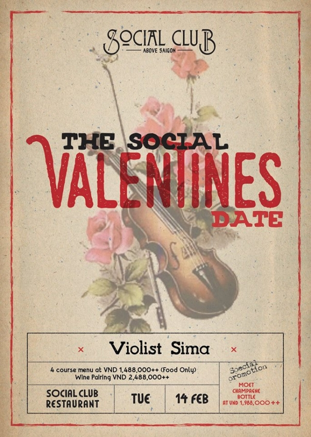 The Social's Valentines Date