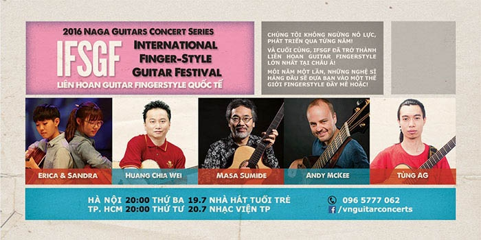 Vietnam International Fingerstyle Guitar Festival 2016