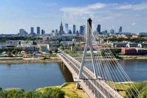 Best of Warsaw 4-Hour Tour on Foot and by Private Car